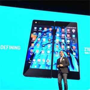 中兴折叠手机AxonM国行版亮相 即将发布上市