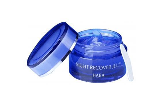 haba夜间修复啫喱用法 既是晚霜也是睡眠面膜