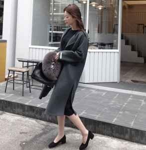 灰色大衣怎么搭配 极致低调的时髦