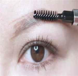 画眉毛什么步骤 简单又好看眉毛画法教程