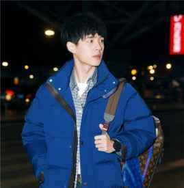 刘昊然Louis Vuitton最新机场街拍  时尚不失少年感