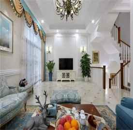 420平米别墅装修实景图 420㎡别墅美式风格装修设计