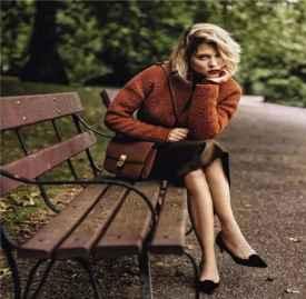 焦糖色大衣搭配图片 焦糖色大衣怎么穿才不显老