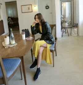 韩版皮衣搭配图片女生 穿出不一样的个性