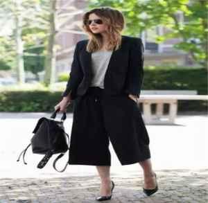 春季西装搭配什么裤子好看 西装与阔脚裤搭配方案