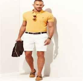 夏季男生短裤搭配图片 如何挑选合适自己的短裤