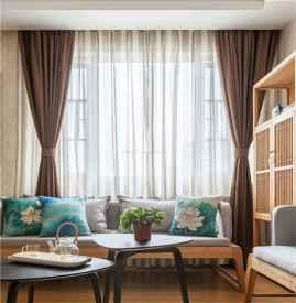 客厅白色墙配什么窗帘 窗帘选择有哪些原则