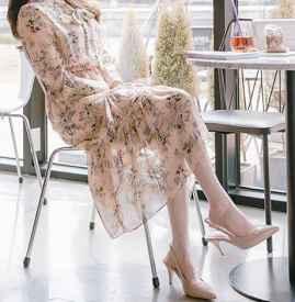 雪纺连衣裙搭配什么鞋 这4类搭配让你自带仙女气息