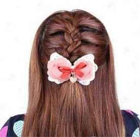 半扎发教程图解 这几款半扎发漂亮极了