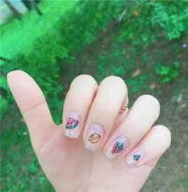 夏日美甲图片 指甲也要跟上季节的步伐呀