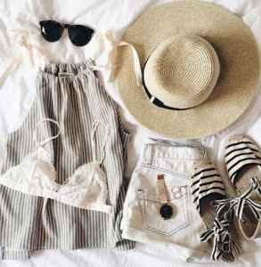 白色短裤配什么上衣 夏日穿搭加点小套路
