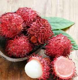 红毛丹怎么吃不沾核皮 红毛丹果核的保护膜不能吃
