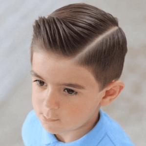 2019短发?#22411;?#24069;气发型 该给儿子换发型了