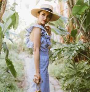 夏天草帽搭配 凹造型又防晒怎么能少了草帽