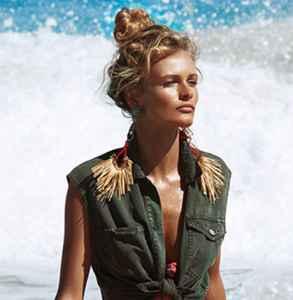 印花泳衣 今夏最有风情的特色