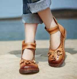 今年夏天流行女鞋 老爹鞋之后奶奶鞋火了