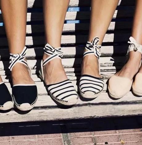 2018夏季流行的鞋子 渔夫鞋清凉出镜完胜小白鞋