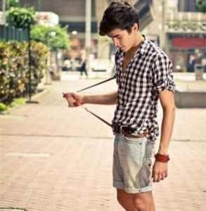 男生夏季穿搭 清爽风格打造今夏时尚型男