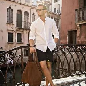男生夏天怎么穿好看 干净清爽女生对男生的夏装要求