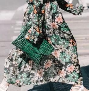 碎花连衣裙怎么选