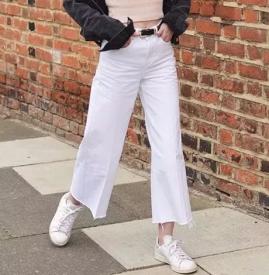 秋天胖女生穿什么裤子好看 因为胖了所以最喜欢阔腿裤