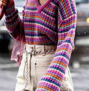 彩虹衣服怎么搭配好看 穿上彩虹做个彩虹girl