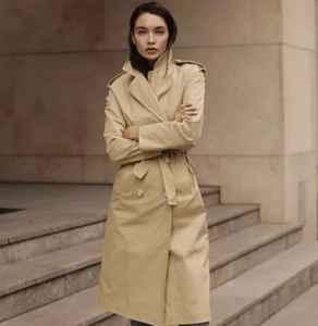 秋冬风衣怎么穿好看 风衣这样穿谁都可以穿成长腿时髦精
