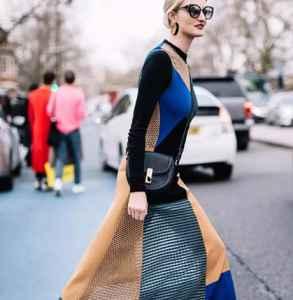 秋冬针织长裙怎么搭配好看