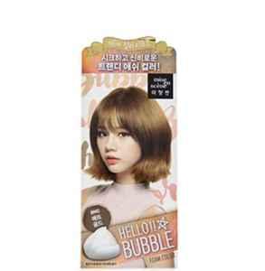 爱茉莉泡沫染发剂颜色 选择好看的发色也是关键
