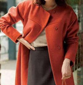 女生大衣和毛衣怎么搭配好看 大衣加毛衣这样才能穿出高级感