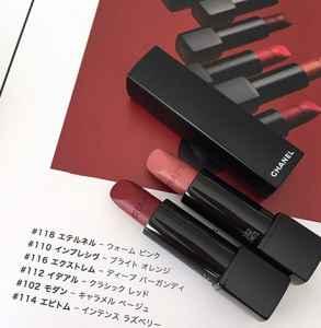 香奈儿新品黑管丝绒唇膏68号是什么颜色