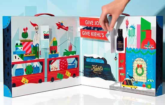 科颜氏圣诞礼盒有什么 骨头先生的奇妙列车