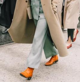 女生冬天靴子和什么裤子搭配好看 靴子配长裤不用露肤的时髦