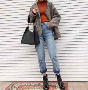 女生马丁靴怎么搭配冬 冬季酷girl指南