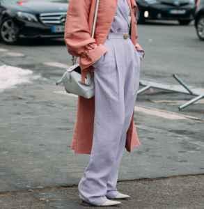 长款大衣搭配什么裤子 大长腿与气场一个都不能少