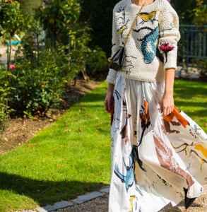 針織衫怎么搭配半身裙 優雅隨性街頭時尚統統滿足