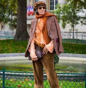 格紋大衣搭配圍巾 這樣搭才chic