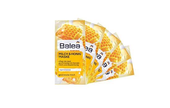 balea蜂蜜牛奶面膜怎么用 免洗面膜的用法