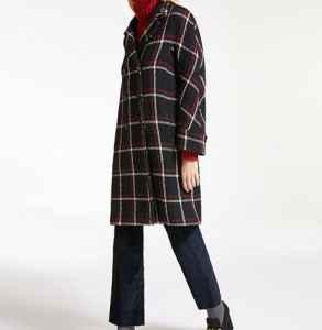 maxmara格纹大衣有哪几种 时尚简约范集一体