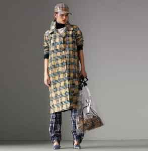 burberry格纹大衣有哪些 英伦经典与现代的碰撞
