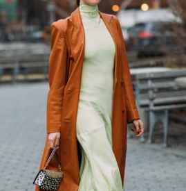 长款连衣裙配什么外套 复古甜美一件搞定