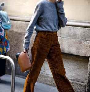 灯芯绒裤子显瘦吗 瘦十斤也不是白日梦