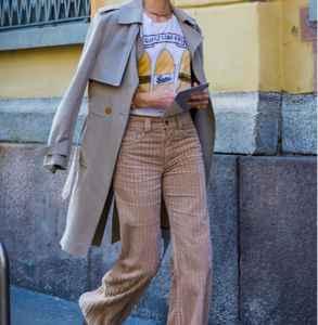 灯芯绒裤子搭配什么鞋 一条裤子的五种搭配