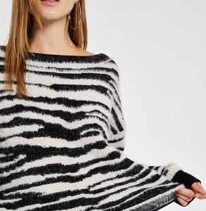 花紋毛衣如何搭配 率性自在的街頭風