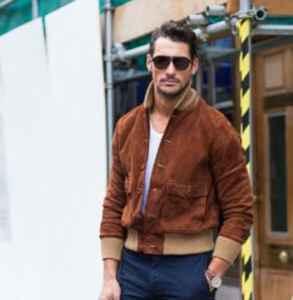 男生飞行夹克配什么裤子  要风度更要温度