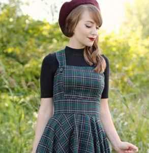 贝雷帽怎么搭配裙子 淑女范从此不甘平凡