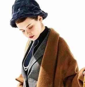 穿大衣配什么帽子 大气优雅的双重魅力