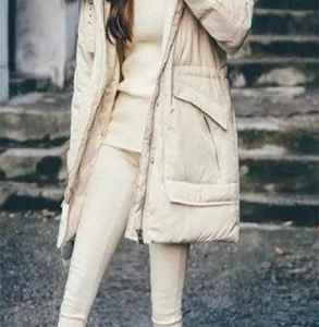 羽绒服搭配什么裤子 想要温柔显瘦就得这么穿