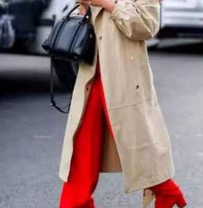 毛呢阔腿裤搭配上衣冬 范儿十足的飘逸气息