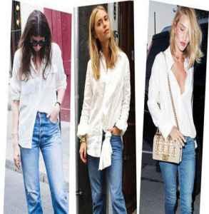 韓版白色襯衫女 打造輕熟女氣質